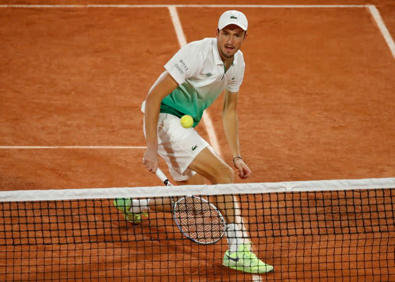 Fourth seed Medvedev sent packing by Fucsovics