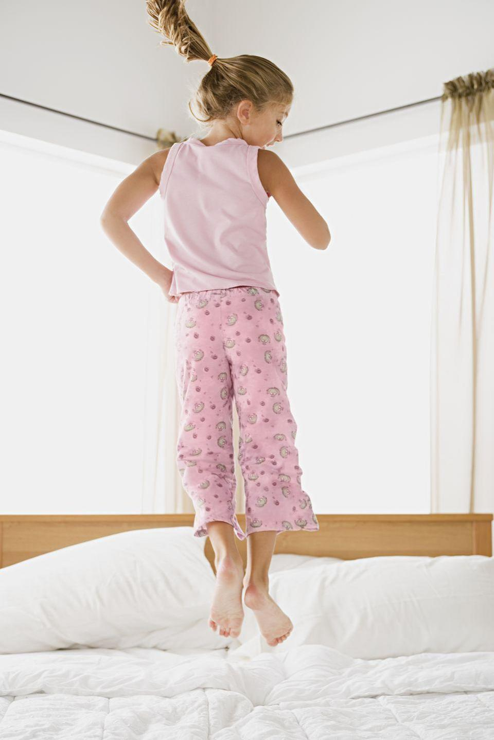 """<p>Your tween is likely bummed that she can't throw her epic sleepovers right now. But that's OK—a virtual birthday slumber party can also be pretty fun. With the help of a laptop or tablet, your tween and her friends can do their favorite spa activities, watch movies in sleeping bags with <a href=""""https://www.netflixparty.com/"""" rel=""""nofollow noopener"""" target=""""_blank"""" data-ylk=""""slk:Netflix Party"""" class=""""link rapid-noclick-resp"""">Netflix Party</a>, and play online games like <a href=""""https://www.jackboxgames.com/drawful-two/"""" rel=""""nofollow noopener"""" target=""""_blank"""" data-ylk=""""slk:Drawful 2"""" class=""""link rapid-noclick-resp"""">Drawful 2</a>, in which each player gets a drawing prompt to scribble onto a device and the other players try to guess what they are. In other words: a game that guarantees giggles.</p><p><a class=""""link rapid-noclick-resp"""" href=""""https://www.amazon.com/PJ-Salvage-Kids-Toddler-Unicorn/dp/B07HYH51ZC/?tag=syn-yahoo-20&ascsubtag=%5Bartid%7C10072.g.32466287%5Bsrc%7Cyahoo-us"""" rel=""""nofollow noopener"""" target=""""_blank"""" data-ylk=""""slk:SHOP PAJAMAS"""">SHOP PAJAMAS</a></p>"""