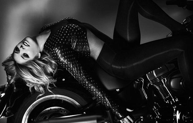Celebrity photos: Holly Willoughby ditched her usual attire for a stunning photo-shoot with Cosmopolitan magazine. The star donned leathers, heavy eye-makeup and posed on top of a motorbike. Hot stuff.