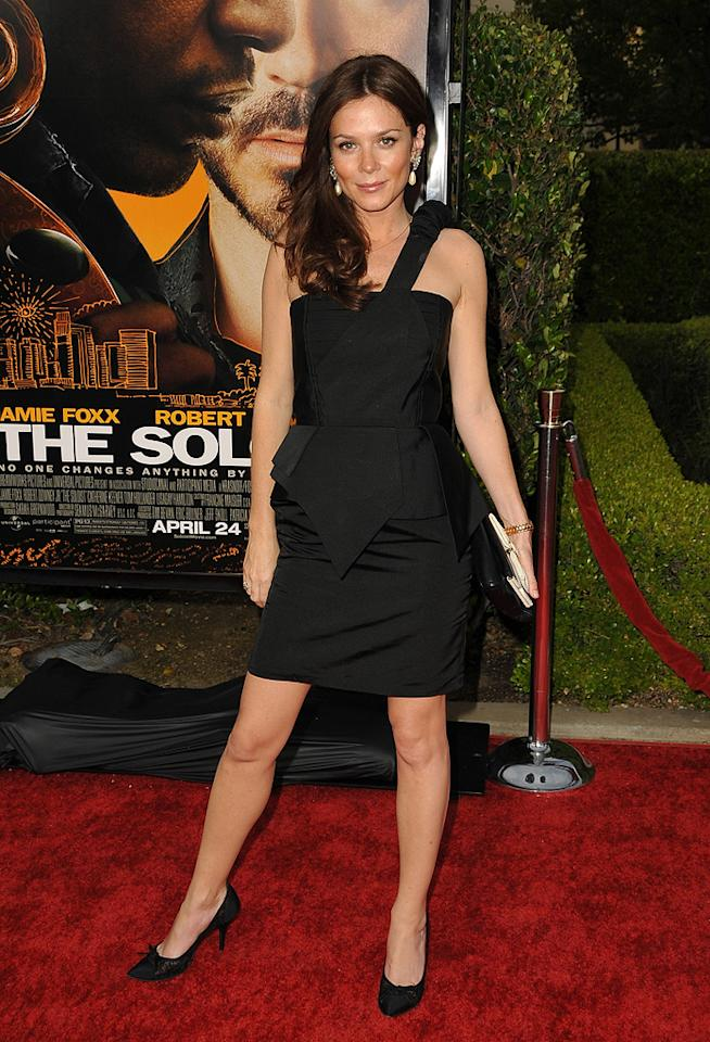 "<a href=""http://movies.yahoo.com/movie/contributor/1800018592"">Anna Friel</a> at the Los Angeles premiere of <a href=""http://movies.yahoo.com/movie/1809986571/info"">The Soloist</a> - 04/20/2009"
