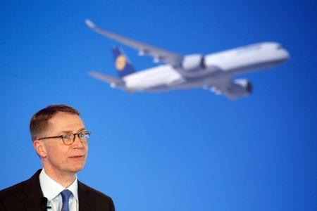 German airline Lufthansa annual news conference in Munich