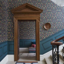 """<p>This wallpaper idea considers the transition between rooms, not just each room in isolation. If you have a view of a hallway or landing from your living room or bedroom, play with perspective by matching your wallpaper between rooms. It also makes an interesting framed design feature out of your doorway. </p><p>Pictured: <a href=""""https://go.redirectingat.com?id=127X1599956&url=https%3A%2F%2Fwww.limelace.co.uk%2Fcollections%2Fwallpaper-all%2Fproducts%2Flibrary-frieze-wallpaper-great-masters-cole-son&sref=https%3A%2F%2Fwww.countryliving.com%2Fuk%2Fhomes-interiors%2Fg36953751%2Fwallpaper-ideas%2F"""" rel=""""nofollow noopener"""" target=""""_blank"""" data-ylk=""""slk:Cole & Son Library Frieze"""" class=""""link rapid-noclick-resp"""">Cole & Son Library Frieze</a>, Beut</p>"""