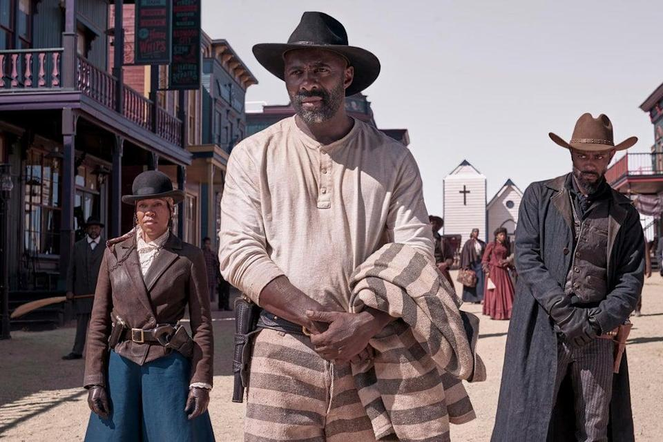 Idris Elba movie The Harder They Fall will open the festival this October. (DAVID LEE/NETFLIX© 2021)