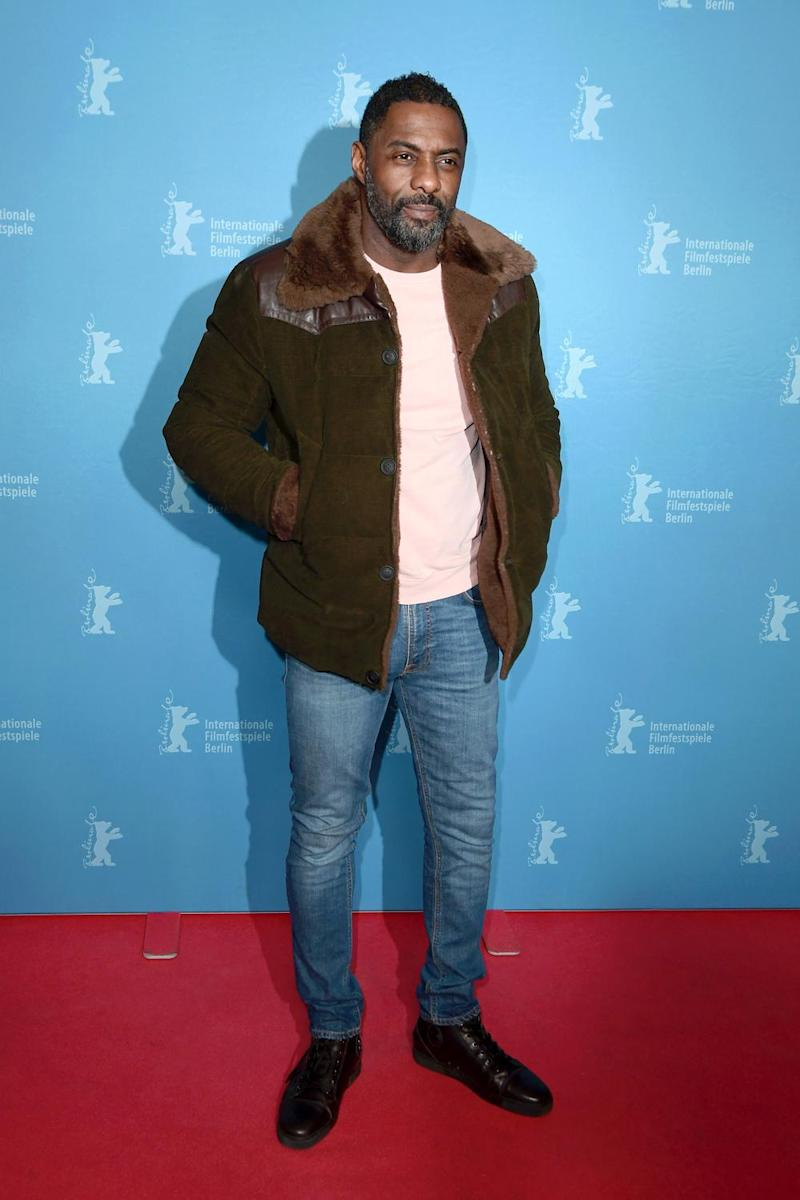 Inspiration: Idris Elba drew on his own experiences growing up in east London in the 1980s (Matthias Nareyek/Getty Images)