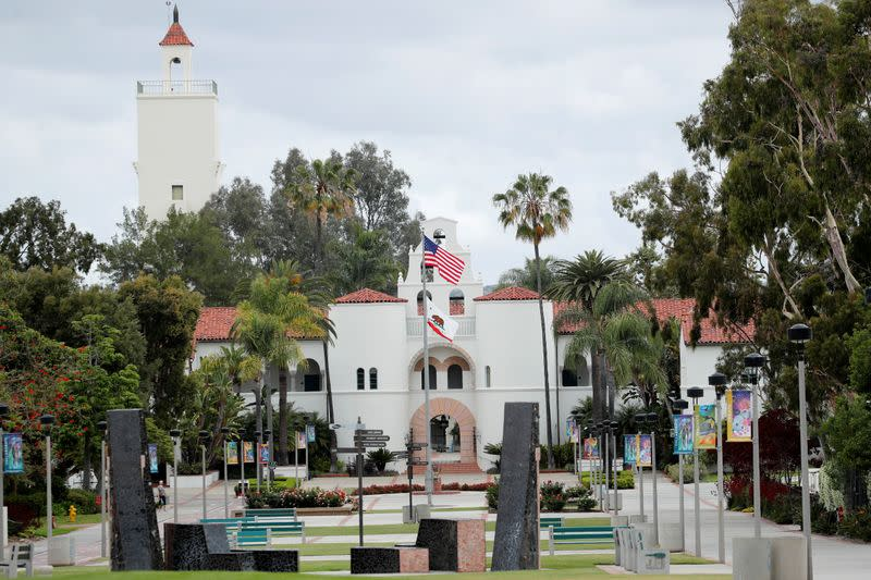 California State Universities to go online in the 2020 fall semester due to the outbreak of the coronavirus disease (COVID-19), in California