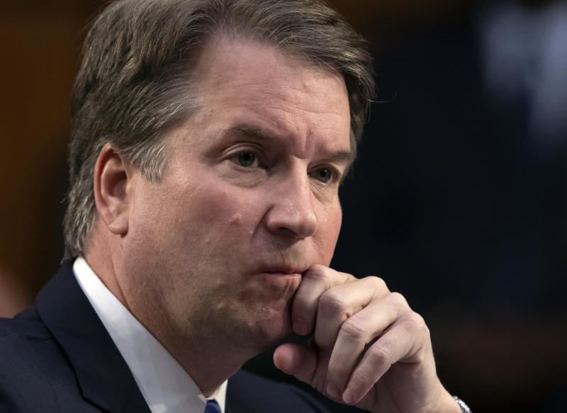 The Latest: Feinstein rejects follow-up calls on Kavanaugh