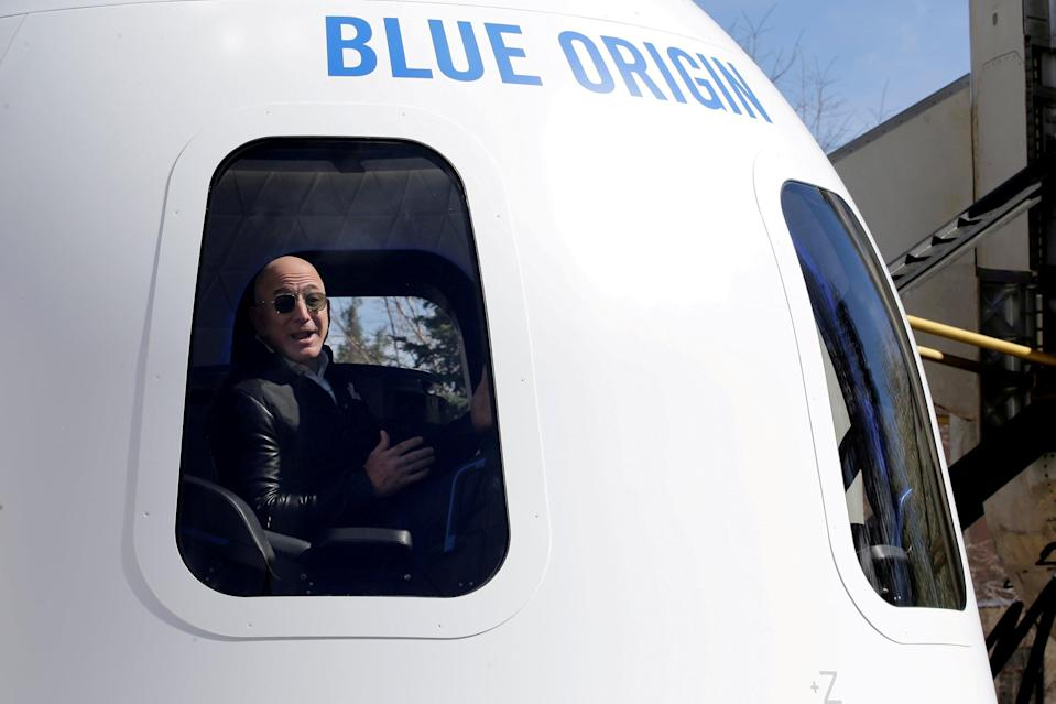 Jeffrey Bezos recently became space's wealthiest tourist (REUTERS)
