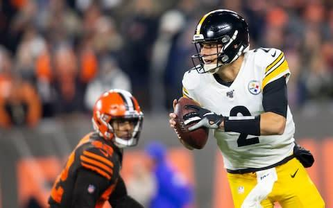 <span>Quarterback Mason Rudolph is the Steelers' weak link</span> <span>Credit: USA TODAY SPORTS </span>