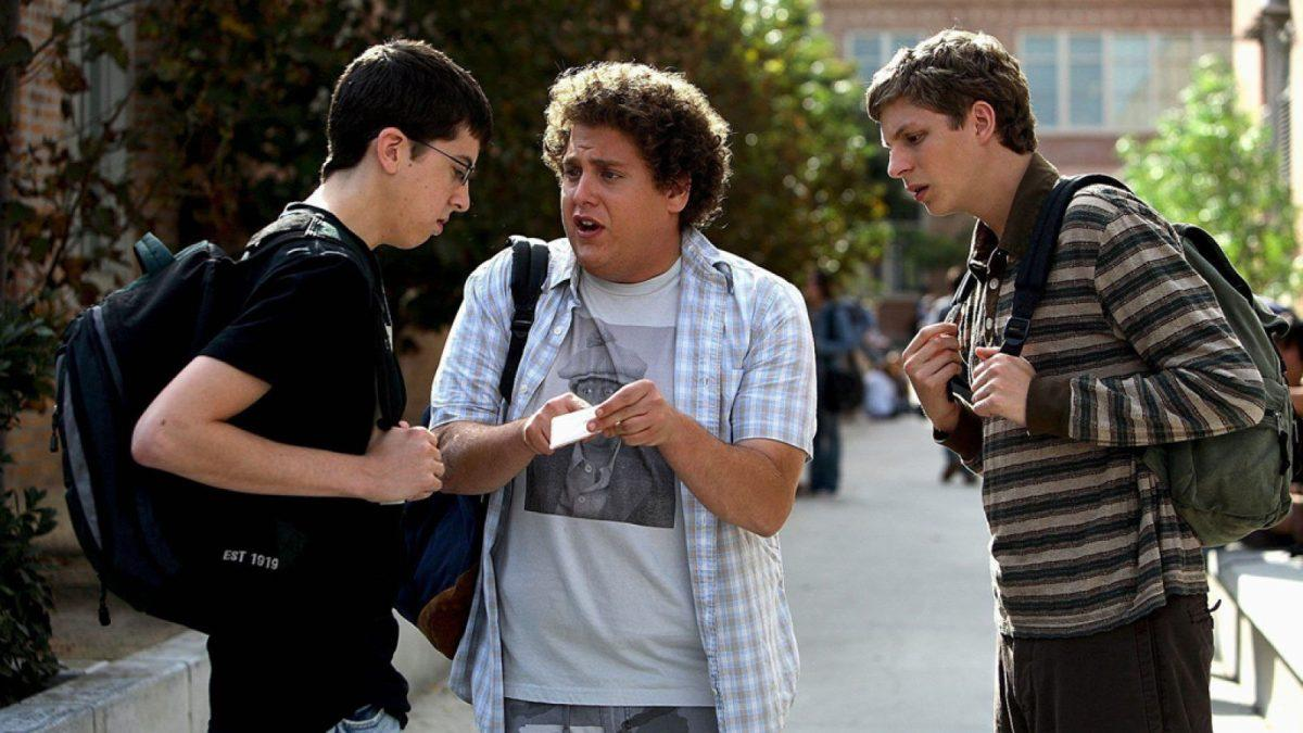 <p>Superbad will forever be known for introducing the world to McLovin', thus creating one of the most referenced pop culture icons in a while. The sweary teen comedy also introduced the world to Christopher Mintz-Plasse, Jonah Hill, and Michael Cera. Credit: Columbia Pictures. </p>