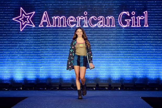 Evette's second look by Samantha Black.<p>Photo: Ilya Savenok/Getty Images/Courtesy of American Girl</p>