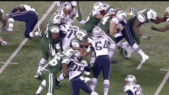 """<a href=""""http://giphy.com/gifs/football-nfl-jets-Ch3B2ty7gY7HW?utm_source=iframe&utm_medium=embed&utm_campaign=tag_click"""" target=""""_blank"""">Butt fumble</a>. That is all."""