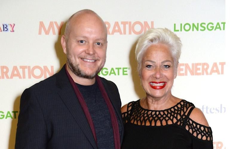 Denise Welch with husband Lincoln Townley - Richard Young/Shutterstock