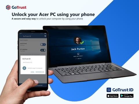 GoTrust ID To Be Preloaded on Acer Computers