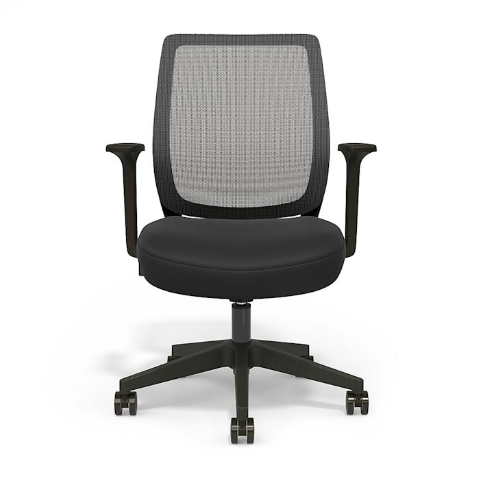 Essentials Mesh Back Fabric Task Chair