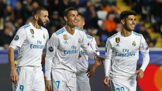 The Real Madrid forward was back to his best against APOEL on Tuesday, with the Portuguese scoring and creating on a productive European evening