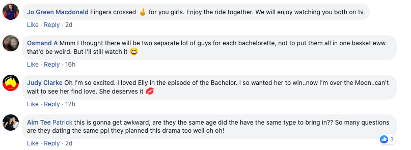 Bachelorette fans were left confused after watching the show's 'awkward' new promo. Photo: facebook/TheBacheloretteAustralia.