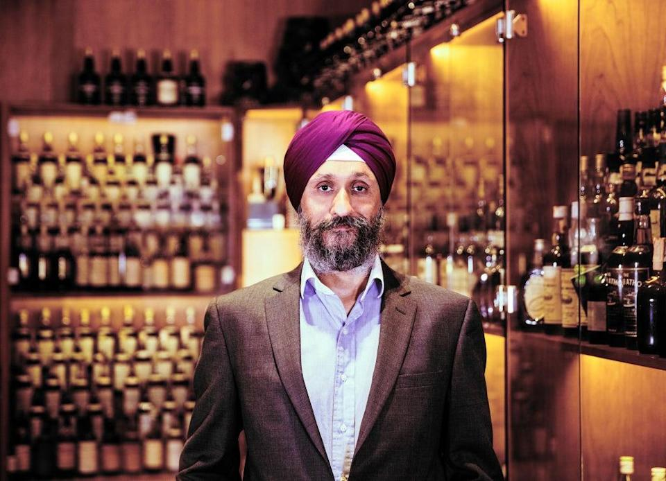 Sukhinder Singh put collected the miniatures since the 1980s (Whisky.Auction/PA)