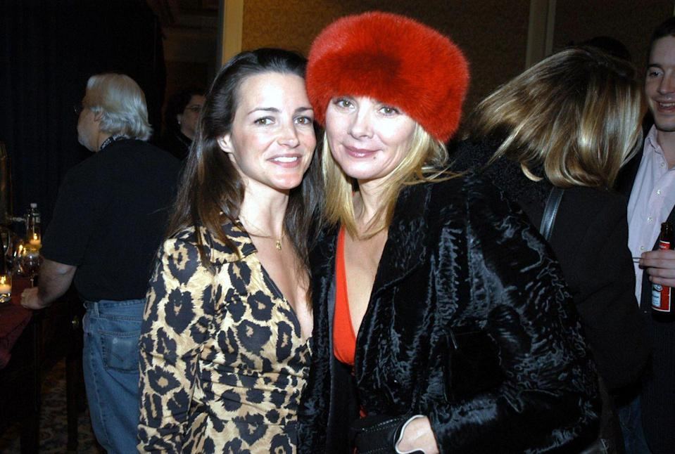 """<p>Davis also talked about a tabloid story that said she and Cattrall would eat in their hotel restaurant but not sit together: """"When I would get back from the set, I would go to the gym and get room service. I'm not a put-on-decent-clothes-and-go-to-the-hotel-restaurant person, but Kim is. The story was that we don't like each other. Ridiculous!""""</p>"""