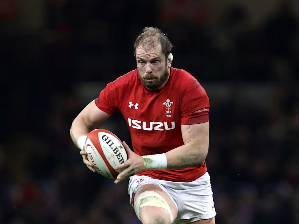 Alun Wyn Jones will captain Wales against Italy in their final Autumn Nations Cup clash (PA)