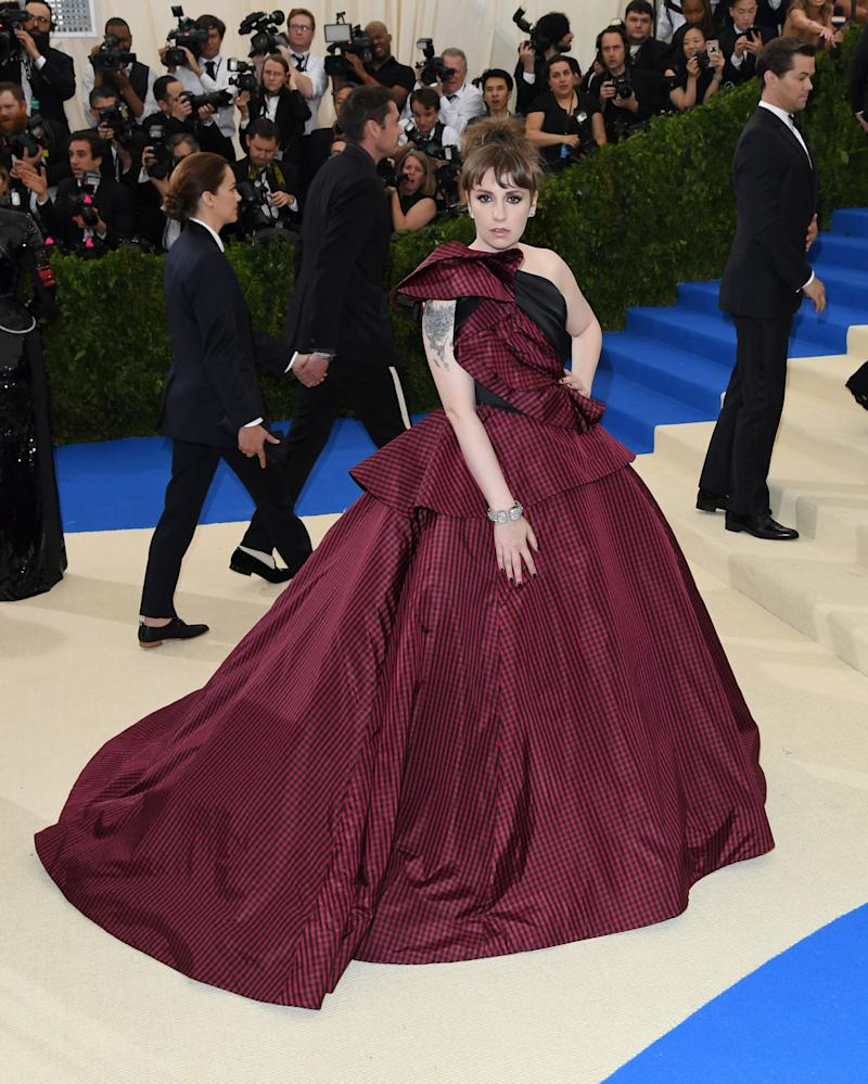 Lena Dunham Went From the Met Gala to the Emergency Room