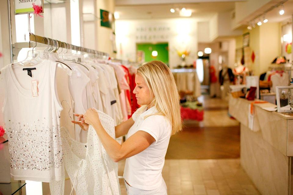 <p>Working at the shops on Newbury Street is a popular summer job in the Boston area and the summer of 2008 was no different.</p>