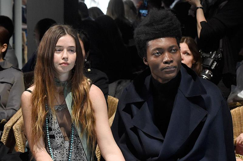 Go with the Flo: Flo Morrissey and Benjamin Clementine (Getty Images): Dave Benett/Getty Images for Bur