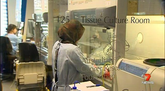 The funding could help researchs trial drugs aimed at curing the deadly disease. Photo: 7 News