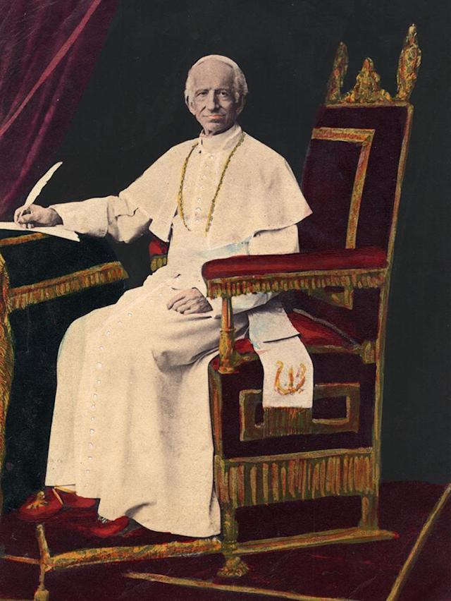 Pope Leo XIII (1810 - 1903) originally Vincenzo Giocchino Pecci. Original Publication: People Disc - HG0215 (Photo by Hulton Archive/Getty Images)