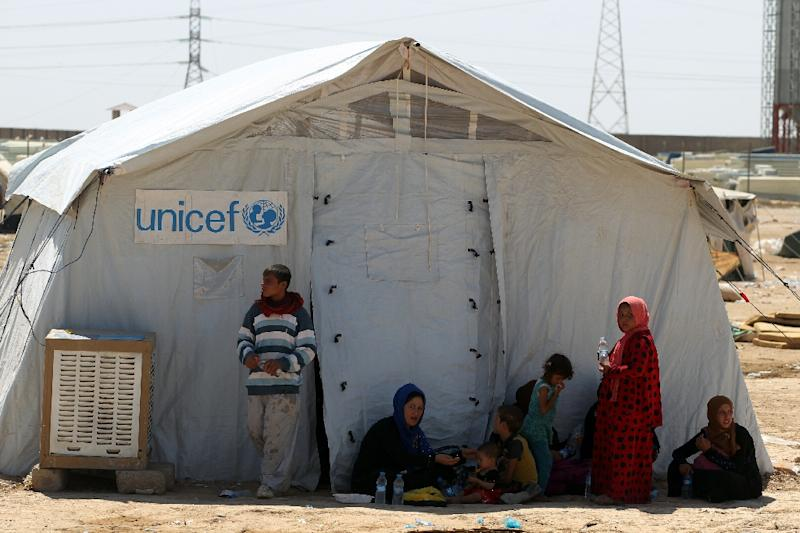 The United Nations' refugee agency (UNHCR) warns that Mosul could trigger an unprecedented crisis, with 200,000 Iraqis already having fled their homes this year (AFP Photo/Ahmad Al-Rubaye)