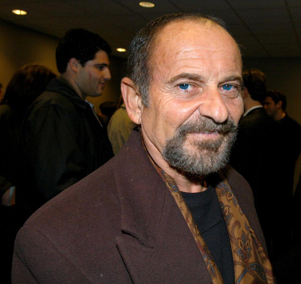 <p>Pesci's deep blue eyes have brown inner rings, giving this respected actor a one-of-a-kind gaze.</p>
