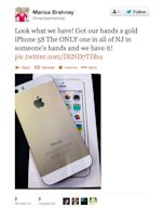 Gold-iPhone-Twitter