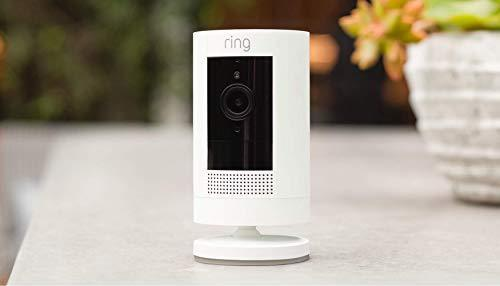 Ring Stick Up Cam Battery HD security camera with custom privacy controls, Simple setup, Works…