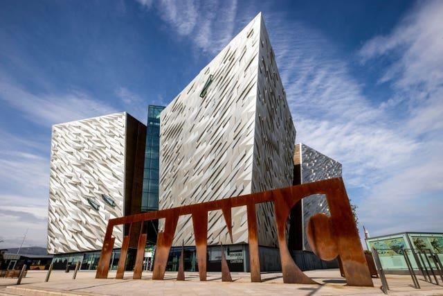 Titanic Belfast visitor centre and tourist attraction (Liam McBurney/PA)
