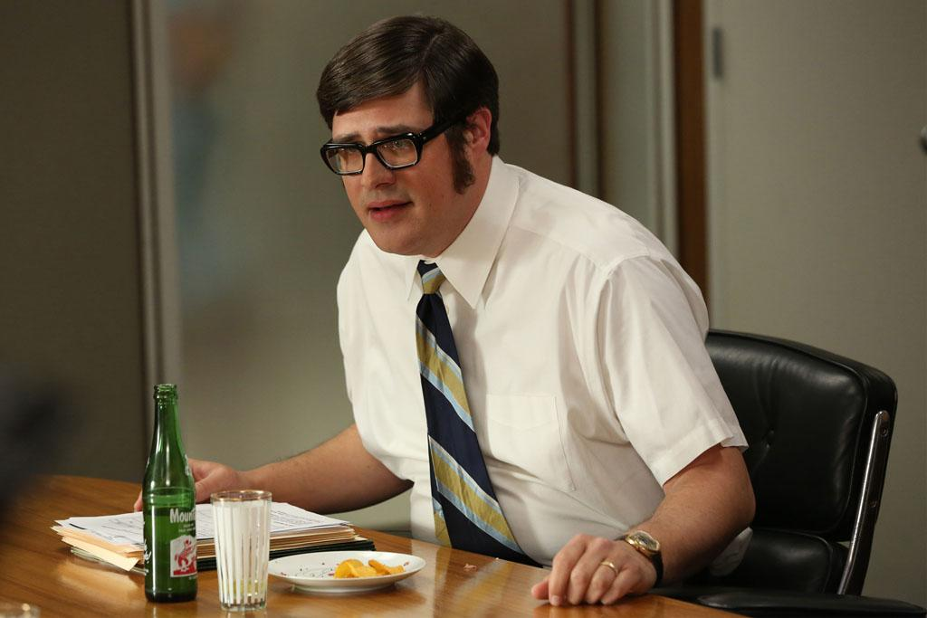 "Harry Crane (Rich Sommer) in the ""Mad Men"" episode, ""The Better Half."""