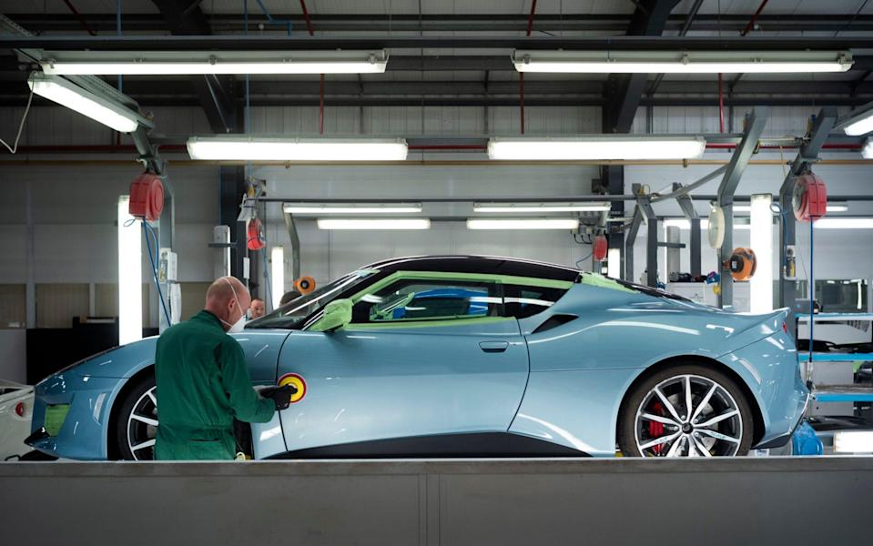 Lotus cars being made in Norwich - David Rose