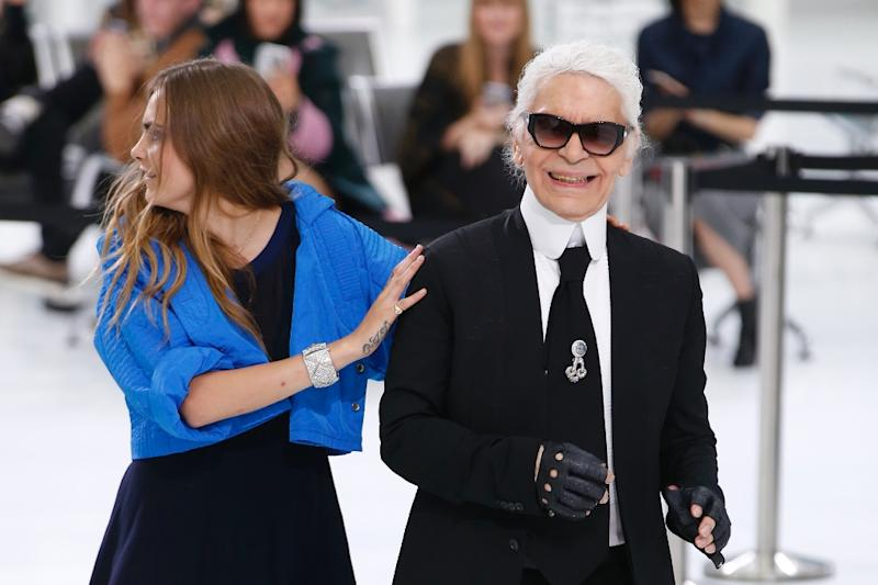91230bd4b29 Lagerfeld s  perfect trip  on Chanel Airlines