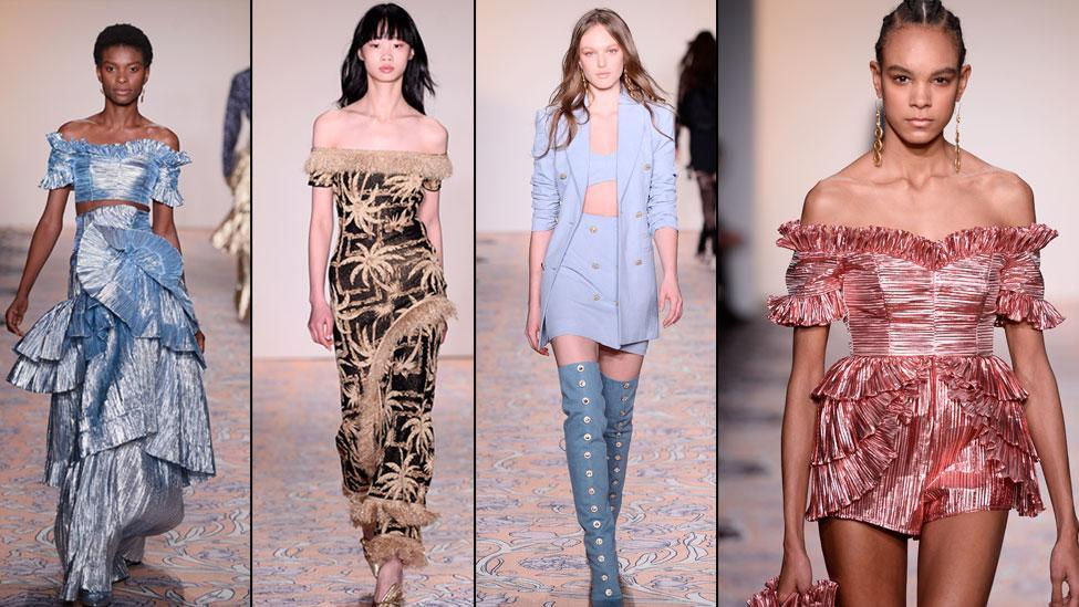<p>Alice McCall shows at NYFW for the first time</p>