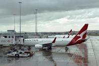 """Australian flag carrier Qantas said tickets to New Zealand were """"selling like hot cakes"""""""