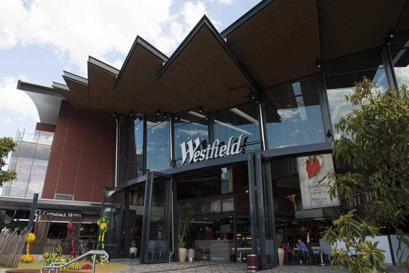 The recently opened redeveloped portion of Westfield Carindale is pictured in Brisbane