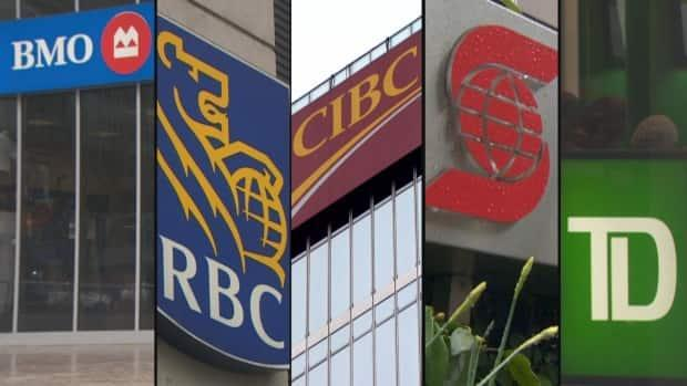 Canada's biggest banks will require employees who return to the office to be vaccinated or submit to regular testing.  (CBC - image credit)