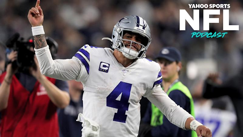 A record setting contract for Cowboys QB Dak Prescott is in the works and looms large over the impending free agency period. (Photo by Tom Pennington/Getty Images)
