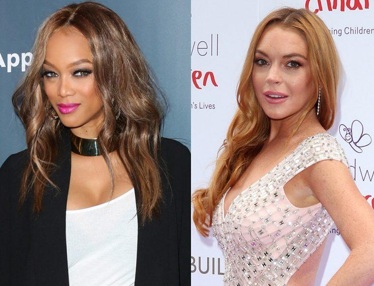 Tyra Banks has got a gig for Lindsay Lohan. (Photo: Getty Images)