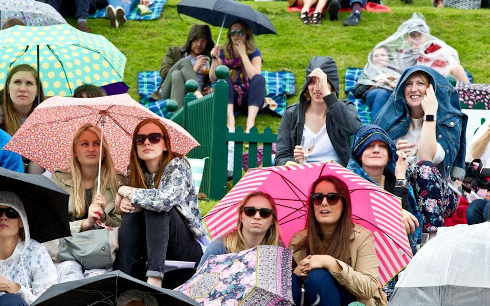 Fans on Henman Hill - Heathcliff O'Malley for The Telegraph