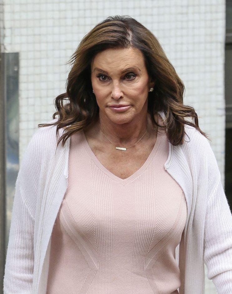 Caitlyn had a busy morning with interviews across the UK networks toady (REX)