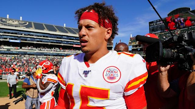 Patrick Mahomes is expected to deliver impressive performances these days, but head coach Andy Reid is grateful to have the quarterback.
