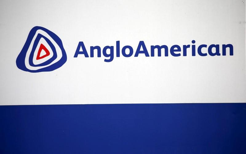 The Anglo American logo is seen in Rusternburg