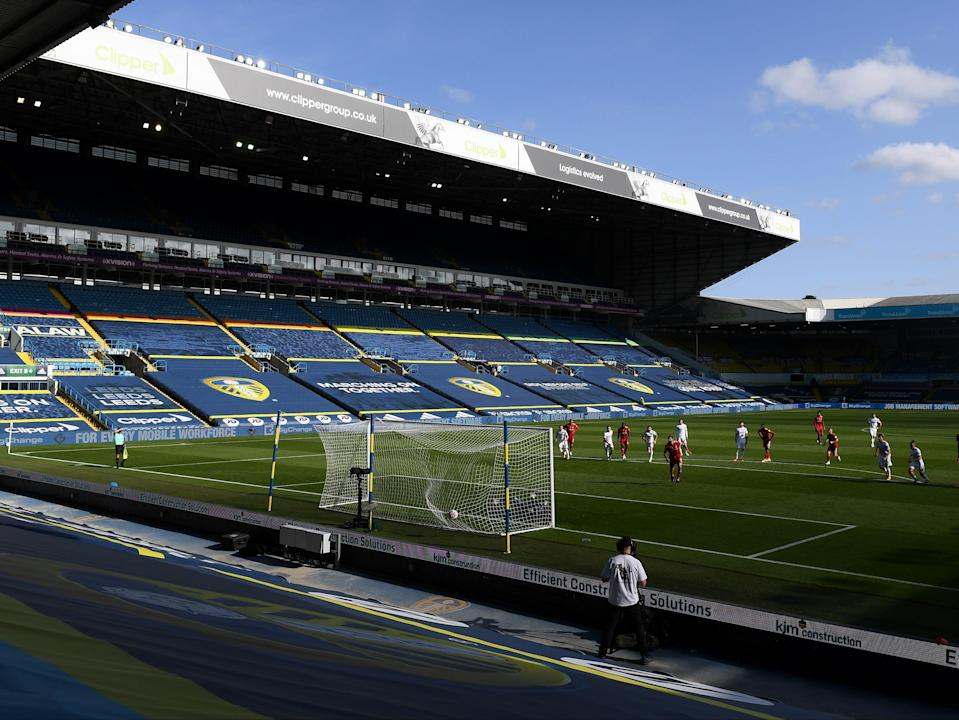 Elland Road hosts a game between Leeds and Fulham in the Premier League (Getty Images)