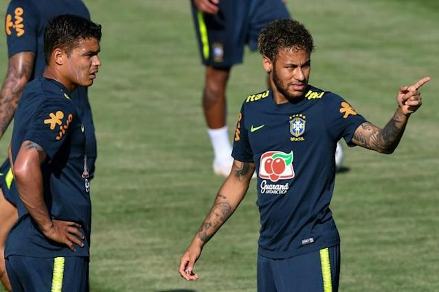 Neymar will start against Switzerland