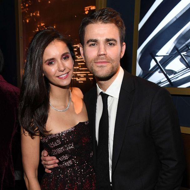 PHOTO: Nina Dobrev and Paul Wesley attend The 2020 InStyle And Warner Bros. 77th Annual Golden Globe Awards Post-Party at The Beverly Hilton Hotel on Jan. 05, 2020, in Beverly Hills, Calif. (Kevin Mazur/Getty Images)