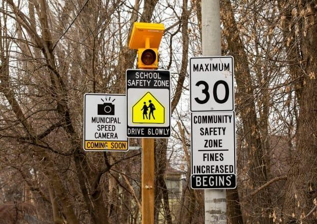 Fifty Automated Speed Enforcement cameras are operating in neighbourhoods across Toronto. (Michael Wilson/CBC - image credit)